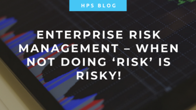 Enterprise Risk Management - When doing risk is risky
