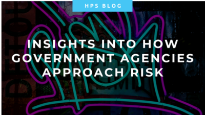 Insights into How government agencies approach risk - a fresh perspective