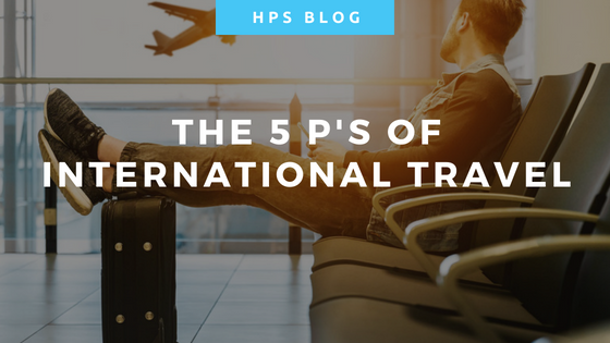 The 5 Ps of International Travel