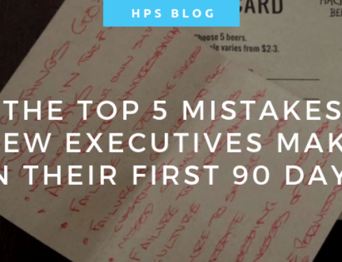 The Top 5 Mistakes New Executives Make in their First 90 Days